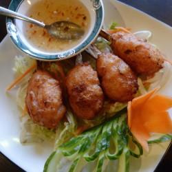 Shrimp Sugarcane