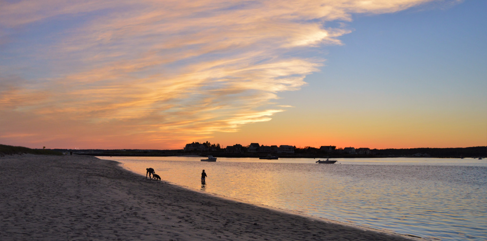 Frequent contributor Brian Lovering of North Yarmouth enjoyed the sunset from Scarborough on the final day of summer. A fitting way to end the season.
