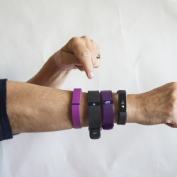 Monitoring how much they walk and keeping track of vital statistics through a Fitbit or similar device is a way for office workers to shed some weight.