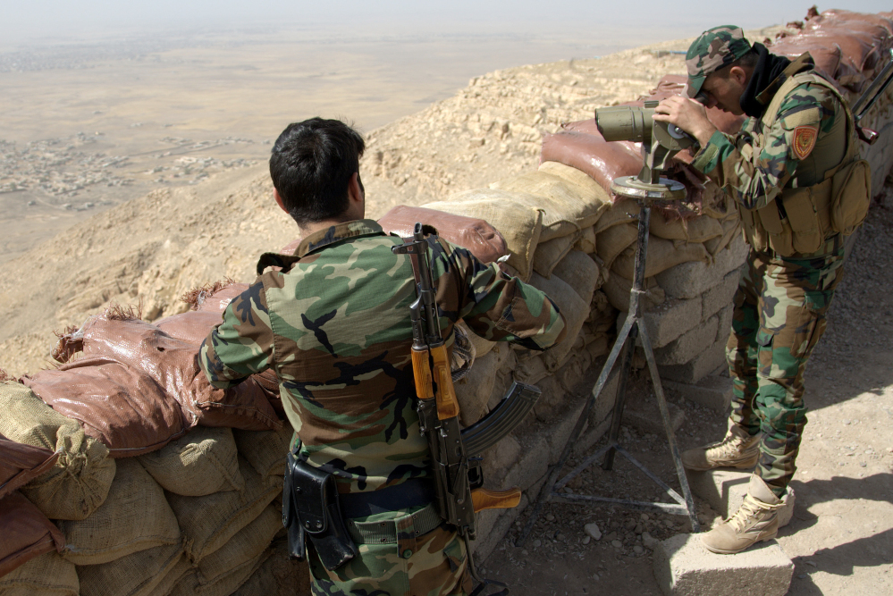 Coalition forces prepare to retake Mosul from IS