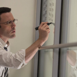 "Ben Affleck plays an autistic mathematician in a scene from the R-rated Warner Bros. thriller ""The Accountant."""