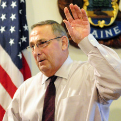 Gov. Paul LePage told WVOM that his staffers tried for months to publicize alleged welfare fraud at a Portland market, but were ignored.