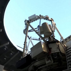 The Space Surveillance Telescope, a gigantic new telescope capable of seeing small objects from very far away.