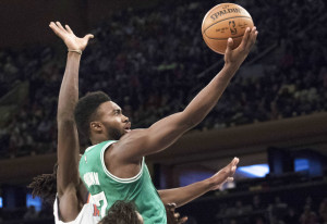 Jaylen Brown was the No. 3 overall pick in the NBA Draft this summer and has made an impression with his Celtics teammates early in the preseason. The 6-foot-7, 19-year-old forward has shown athleticism and has given Celtics Coach Brad Stevens plenty of reason to put him on the floor.