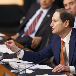 Sen. Ron Wyden, D-Ore., wants answers from the IRS about a Corporate Fraud Task Force created to probe Nevada entities suspected of fraud.