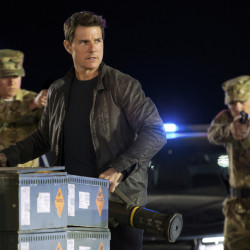 "Tom Cruise in a scene from ""Jack Reacher: Never Go Back."" The entire film was shot in just one of the novel's locales, New Orleans, though the viewer will be convinced the characters have also been in Washington, D.C."