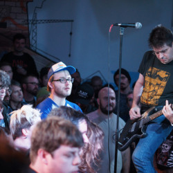 Steve Albini and Shellac at SPACE Gallery.