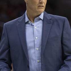 Brett Brown has a 47-199 record in three seasons as the head coach in Philadelphia. The 76ers tanked three straight seasons and have struggled with injuries during Brown's time.