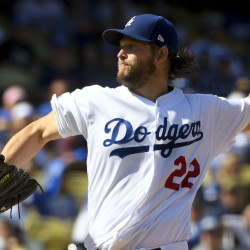 Clayton Kershaw, a three-time winner of the Cy Young Award, is erasing a reputation as a poor postseason performer. He'll be on the mound Saturday night for the Los Angeles Dodgers.