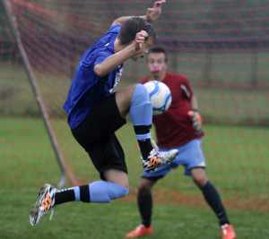 Jackson Fotter described losing in the quarterfinals last season as bitter. He and the Gorham boys' soccer team hope to avoid another upset as the No. 1 seed in Class A South.