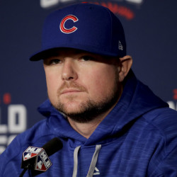 Jon Lester is 3-0 in three World Series starts. He'll make his fourth, this time with the Cubs, in Game 1 on Tuesday.