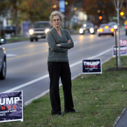 "Betta Stothart has admitted to stealing Donald Trump campaign signs in Falmouth, and has written about her experience for The Washington Post. ""It felt like an affront, and a little disrespectful, to have so many there,"" she says."