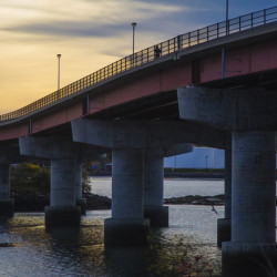 CASCO BAY BRIDGE: Now run by a Florida company so the state can focus more on road work.