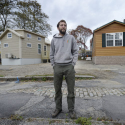 "Brent Adler, who owns residential buildings around Portland, contends tiny homes are allowed because they are essentially recreational vehicles, but the city says he's violating the land use code. ""I don't know what we're going to do,"" he said."