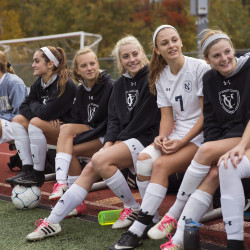 "The Yarmouth High girls' soccer players have reacted well to a new coach, the 29-year-old Josh Thornton. ""He made it an easy transition,"" said junior Sara D'Appolonia."