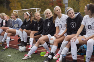 """The Yarmouth High girls' soccer players have reacted well to a new coach, the 29-year-old Josh Thornton. """"He made it an easy transition,"""" said junior Sara D'Appolonia."""
