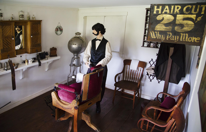 Barber Shop Portland Maine : Willowbrook Museum - The Portland Press Herald / Maine Sunday Telegram