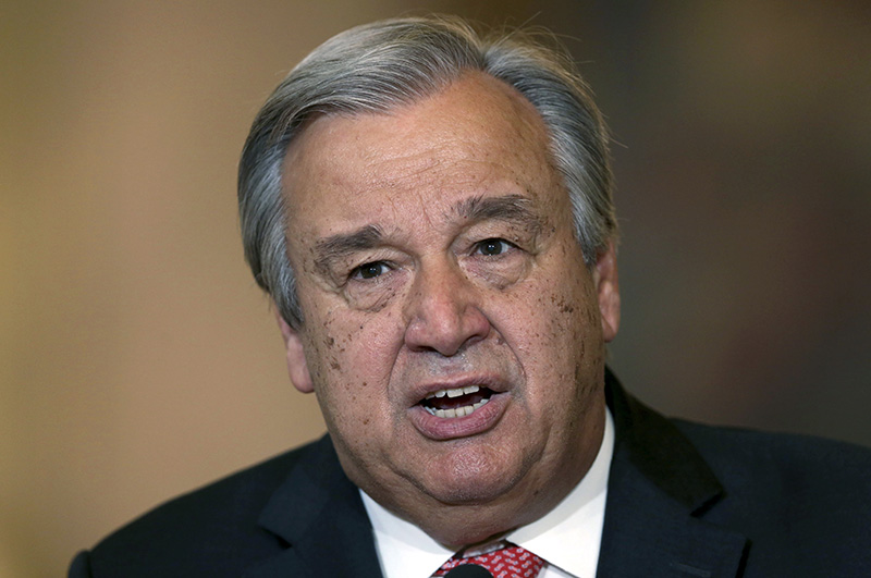 Un General Assembly Elects Antonio Guterres As Secretary General on Fill It Up Please Portland Maine