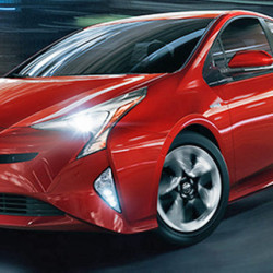 The Prius ranks highest  overall in predicted reliability. The 2017 model has been redesigned with a sportier look and better handling. Toyota photo