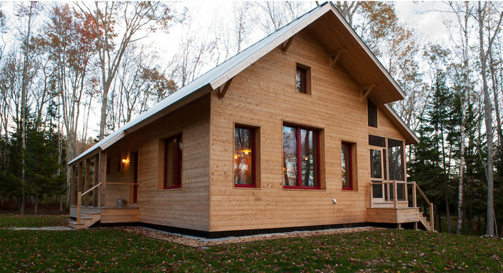 Green Home Design Takes Off In Maine The Portland Press