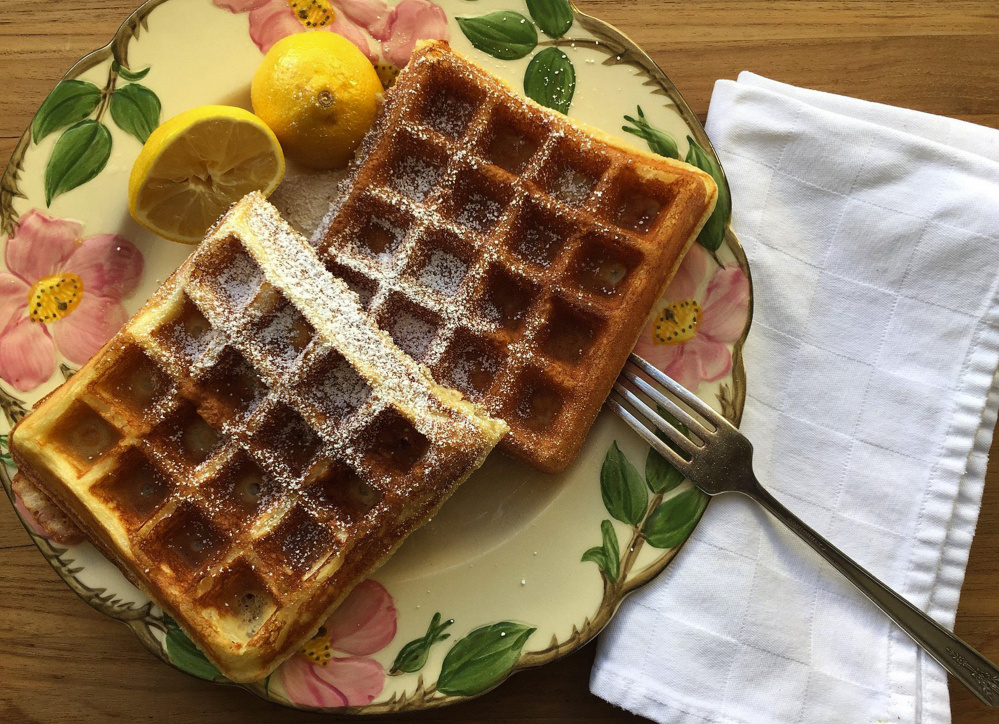 How to make the world's best waffles - The Portland Press Herald ...
