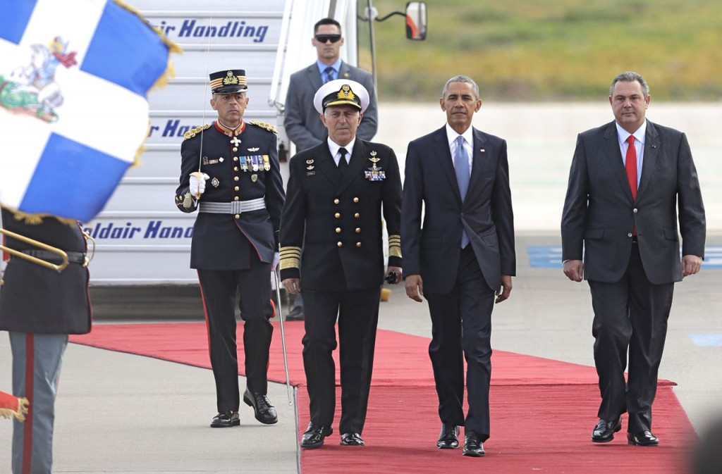 Greeks Prepare Security Measures Ahead of Obama Visit
